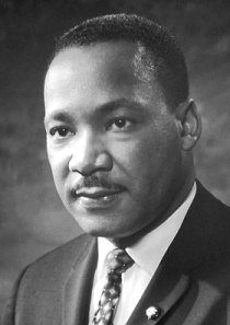 Martin Luther King, Jr. -Photo Credit: Wikipedia