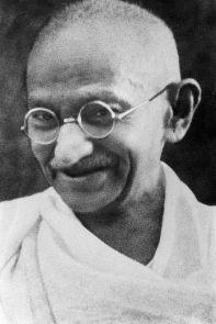 Mahatma Gandhi -Photo Credit: Wikipedia
